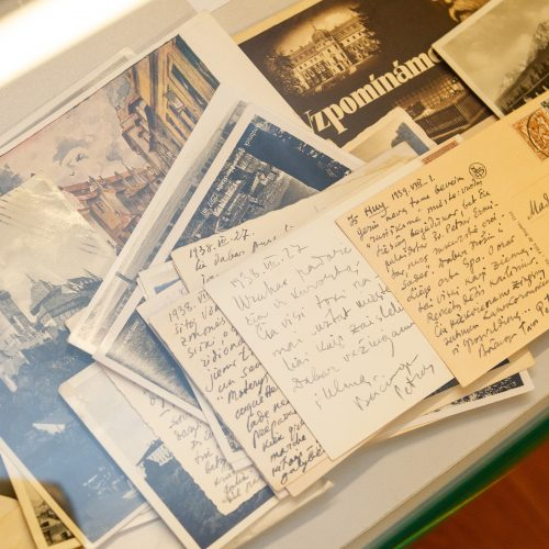 Lietuvai perduotas signataro P. Klimo archyvas