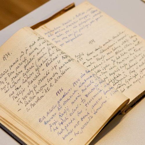 Lietuvai perduotas signataro P. Klimo archyvas  © P. Peleckio / Fotobanko nuotr.
