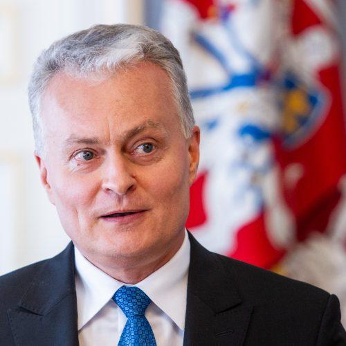 Prezidento ir premjero spaudos konferencija  © P. Peleckio / Fotobanko nuotr.