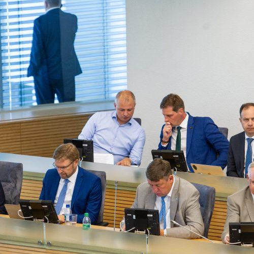 Seimas susirinko į neeilinę sesiją  © P. Peleckio / Fotobanko nuotr.