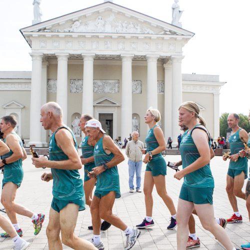 Startavo tradicinė estafetė Baltijos keliu  © P. Peleckio / Fotobanko nuotr.