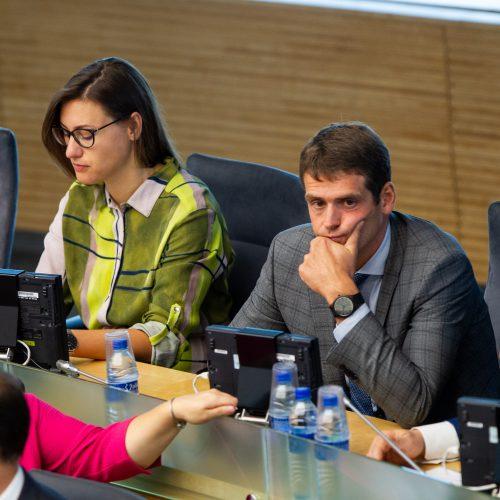 Pirmasis Seimo rudens sesijos posėdis  © P. Peleckio / Fotobanko nuotr.