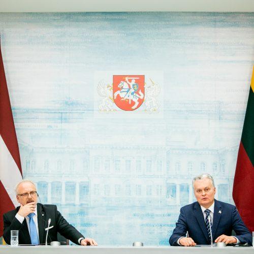 Latvijos prezidentas atvyko į Lietuvą  © P. Peleckio / Fotobanko nuotr.