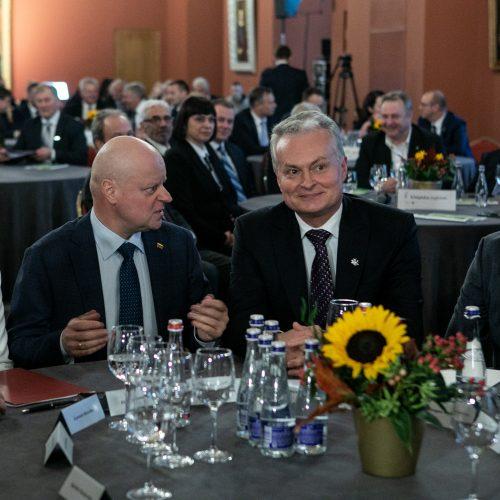Regionų forumas Valdovų rūmuose