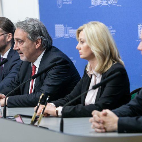 Raudonasis Kryžius sutarė bendradarbiauti su Vyriausybe