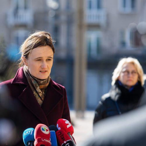 Seimo opozicijos atstovų spaudos konferencija  © I. Gelūno / Fotobanko nuotr.
