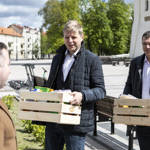 """Prasidėjo """"Maisto banko"""" socialinė akcija  © P. Peleckio / Fotobanko nuotr."""
