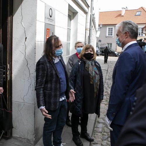 Prezidentas susitiko su kultūros bendruomenės atstovais  © P. Peleckio / Fotobanko nuotr.