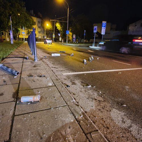 """""""Citybee"""" automobilio avarija Kaune  © Eitvydo Kinaičio nuotr."""