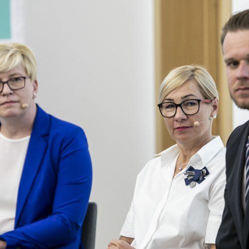 Konservatoriai pristatė Seimo rinkimų programą