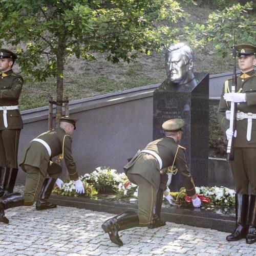 Minimos A. Brazausko dešimtosios mirties metinės  © P. Peleckio / Fotobanko nuotr.