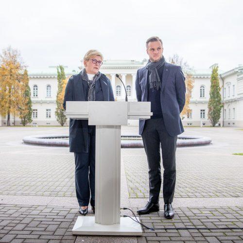 Prezidentas susitinka su partijų lyderiais  © I. Gelūno / Fotobanko, R. Dačkaus / Prezidentūros nuotr.