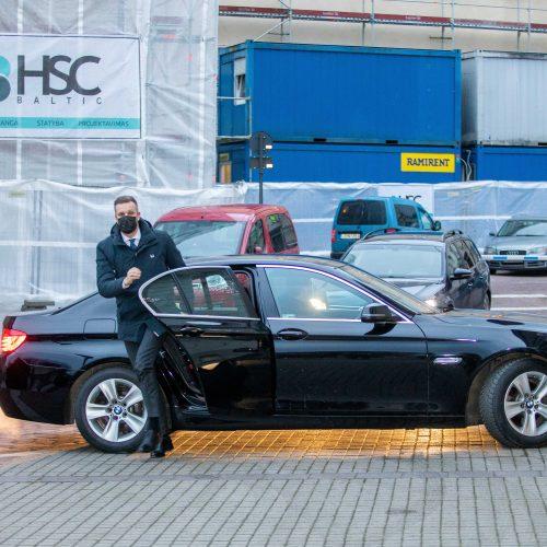 Kandidatas į ministrus G. Landsbergis susitinka su G. Nausėda  © I. Gelūno / Fotobanko nuotr.