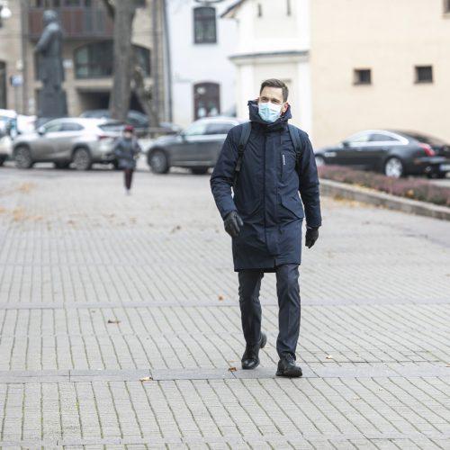G. Nausėda susitinka su kandidatu į ministrus D. Kreiviu  © P. Peleckio / Fotobanko, R. Dačkaus / Prezidentūros nuotr.