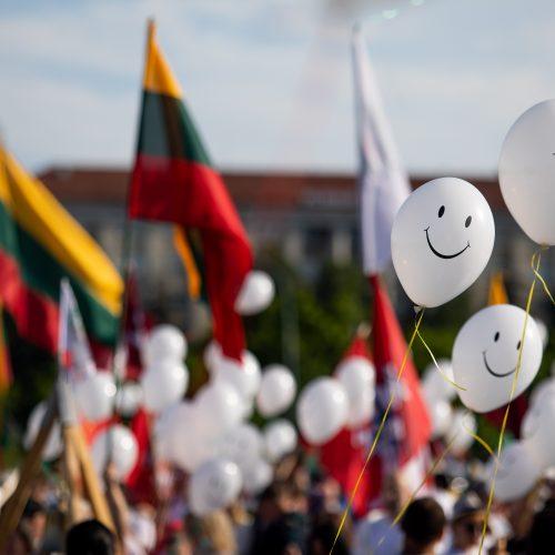 Šeimų maršo protestas prie Seimo  © I. Gelūno / Fotobanko nuotr.
