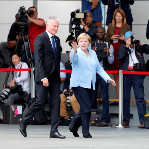 G. Nausėdos susitikimas su A. Merkel