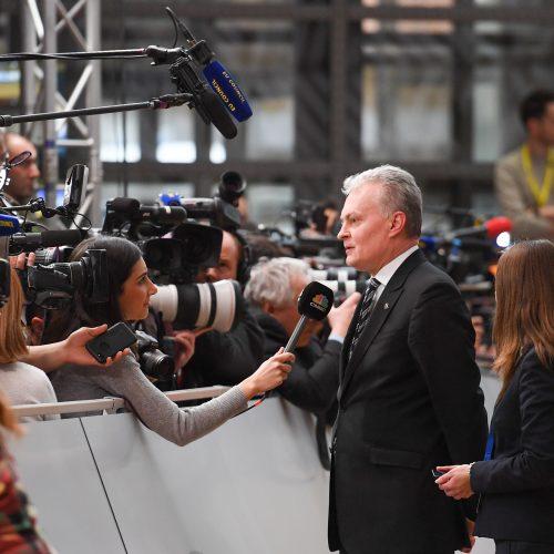 G. Nausėda dalyvauja derybose dėl ES biudžeto