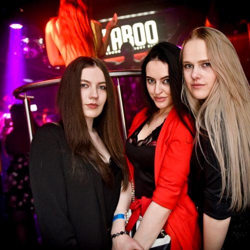 """Klube """"Taboo"""" – įspūdinga naktis su Soliariu"""