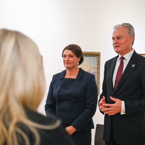 G. Nausėdos vizitas JAV  © R. Dačkaus / Prezidentūros nuotr.