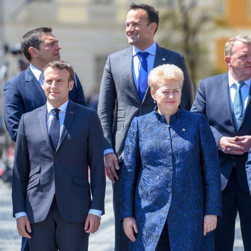 Prezidentė – Europos Vadovų Tarybos posėdyje  © R. Dačkaus / Prezidentūros nuotr.