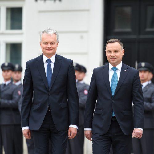 G. Nausėdos vizitas į Lenkiją  © R. Dačkaus / Prezidentūros nuotr.