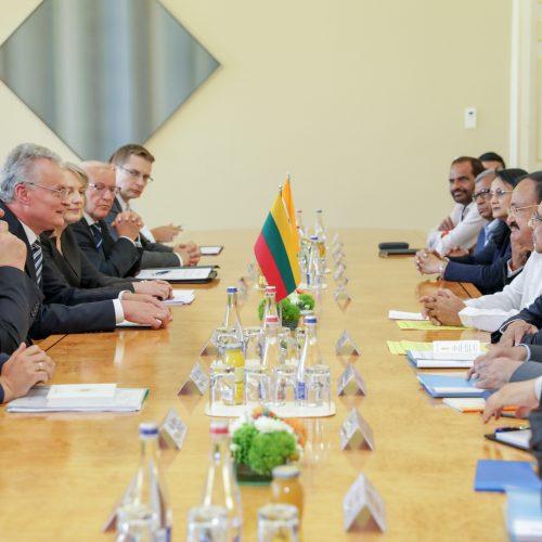 Lietuvoje vieši Indijos viceprezidentas  © R. Dačkaus / Prezidentūros nuotr.
