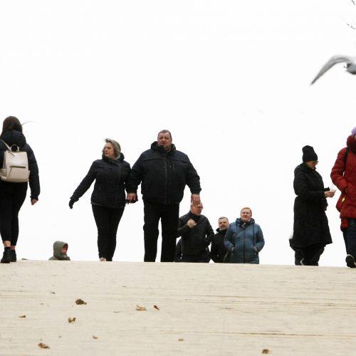 Palanga sulaukė poilsiautojų  © V. Liaudanskio nuotr.