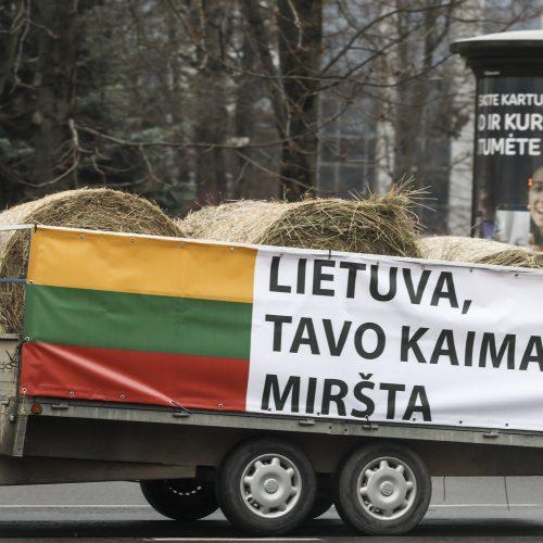 Lietuvoje – ūkininkų protestas