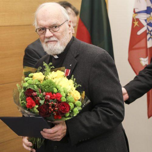 Išdalyti medaliai pasaulio lietuviams