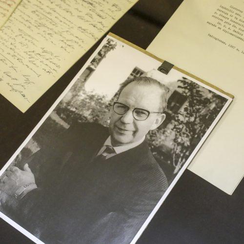 Archyvui perduoti S. A. Bačkio dokumentai  © M. Morkevičiaus / ELTOS nuotr.