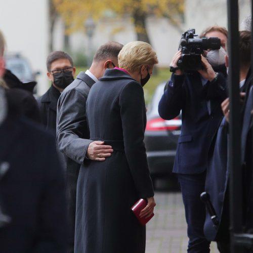 Lenkijos prezidento vizitas Lietuvoje  © R. Dačkaus / Prezidentūros, D. Labučio / ELTOS nuotr.