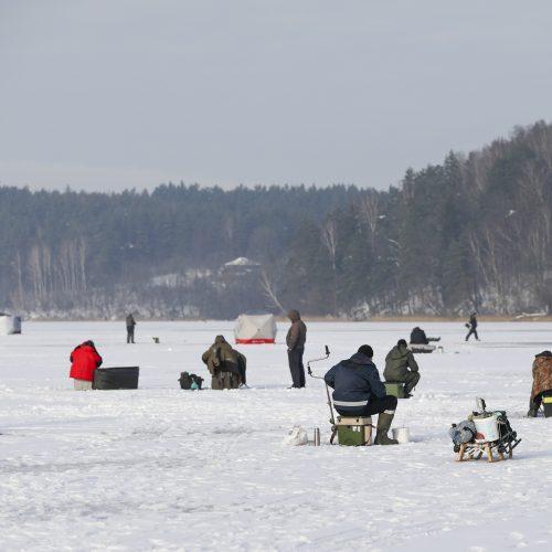Žalieji ežerai traukia vilniečius ir žiemą
