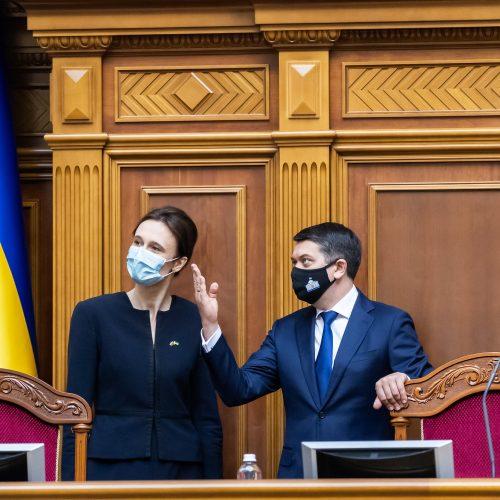 Seimo pirmininkės vizitas Ukrainoje