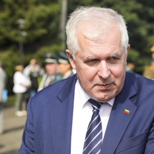 Medininkų žudynių metinių minėjimas  © R. Dačkaus / Prezidentūros, M. Morkevičiaus / ELTOS nuotr.