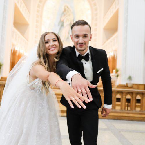 """Mango"" narės G.  Sruogiūtės vestuvės  © T. Biliūno / Fotobanko nuotr."