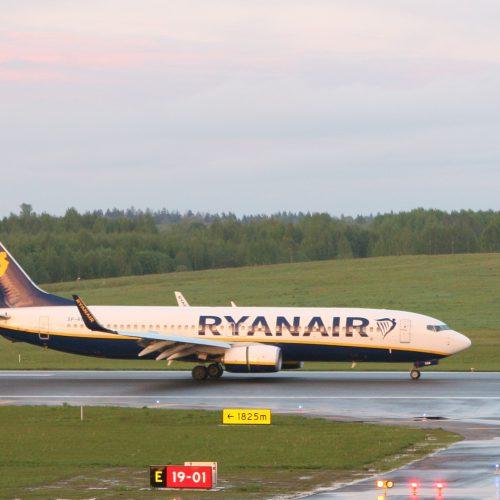 """Priverstinis """"Ryanair"""" lėktuvo nutupdymas"""