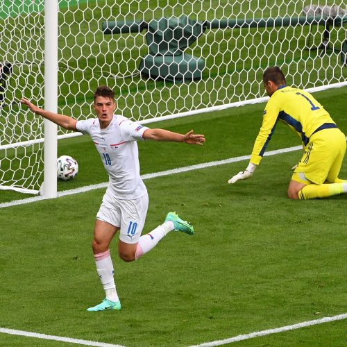 Europos čempionato D grupė: Škotija-Čekija 0:2