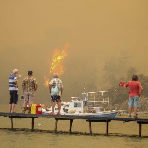 Turkiją siaubia gaisrai  © Scanpix nuotr.
