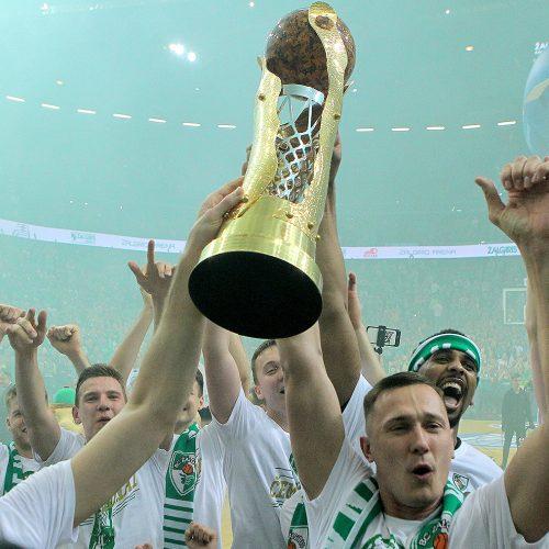 """""""Žalgirio"""" triumfas LKL finale  © Evaldo Šemioto nuotr."""