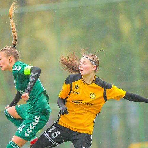 """Moterų A lyga: """"Kauno Žalgiris"""" – """"Gintra"""" 0:5  © Evaldo Šemioto nuotr."""