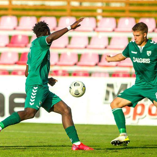 "UEFA EKL: ""Kauno Žalgiris"" – ""The New Saints"" 0:5  © Evaldo Šemioto nuotr."