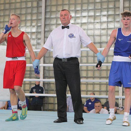 R. Tamulio bokso turnyro finalai  © Evaldo Šemioto nuotr.