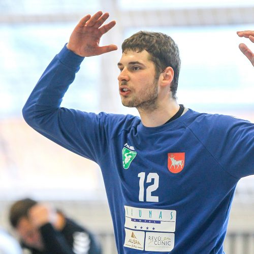 """LRL pusfinalis: """"Granitas"""" – """"Šviesa"""" 30:29  © Evaldo Šemioto nuotr."""