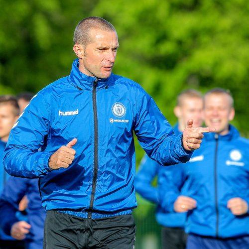 """Hegelmann Litauen"" futbolininkų treniruotė  © Evaldo Šemioto nuotr."
