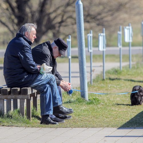 Karantinas Kaune. 10-oji diena  © Evaldo Šemioto nuotr.