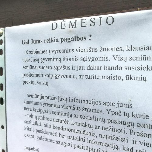 Karantinas Kaune. 18-oji diena  © Evaldo Šemioto nuotr.