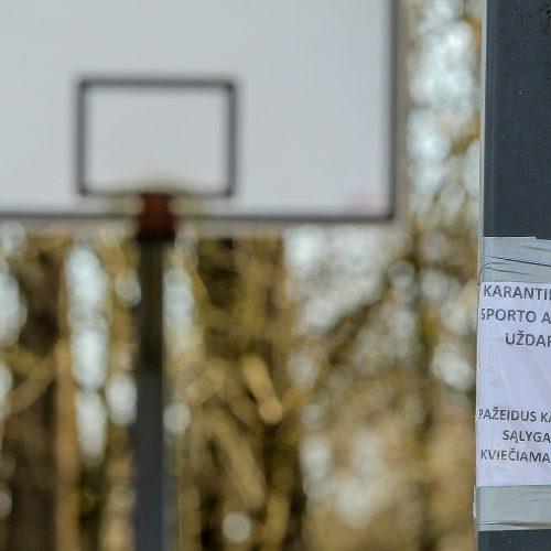 Karantinas Kaune. 24-oji diena  © Evaldo Šemioto nuotr.