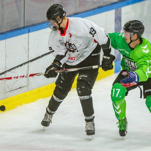 """L. ritulys: """"Kaunas Hockey"""" – """"Baltų ainiai"""" 5:0"""