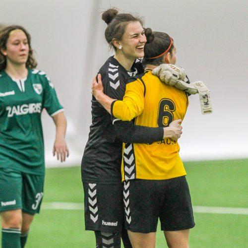 """Moterų A lyga: """"Kauno Žalgiris"""" – """"Gintra"""" 0:2  © Evaldo Šemioto nuotr."""