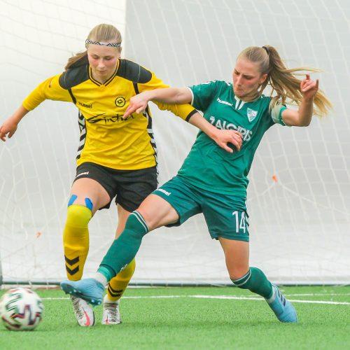 """Moterų A lyga: """"Kauno Žalgiris"""" – """"Gintra"""" 0:2"""